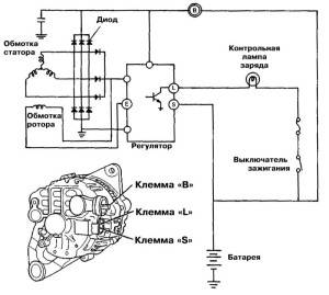Схема подключки агрегата