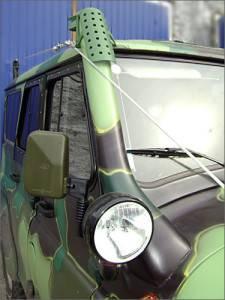 Воздухозаборник тюнинговый