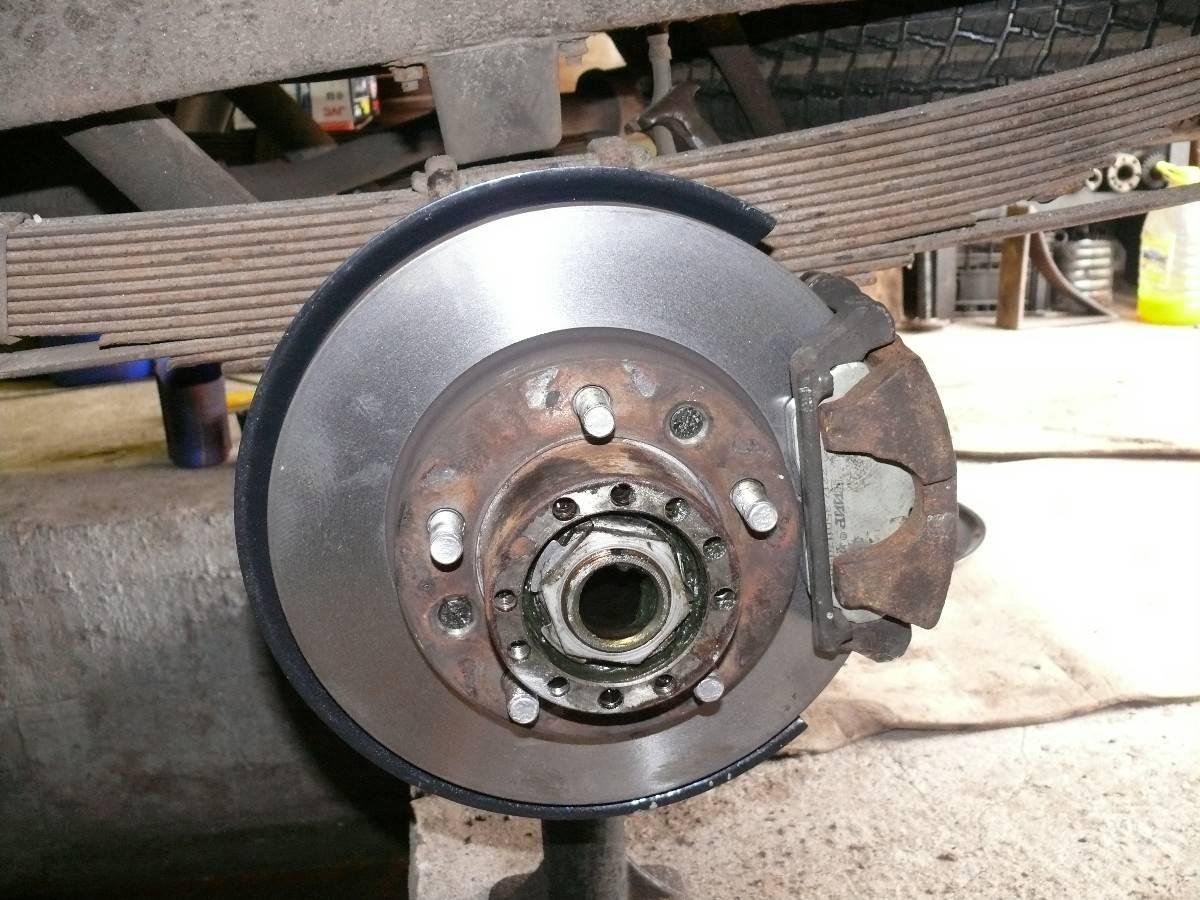 Дисковый агрегат для колеса