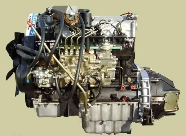 Уазовский дизельный мотор