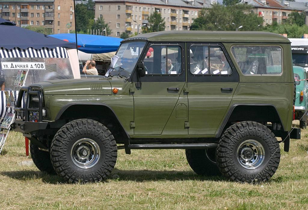 Легендарная машина УАЗ