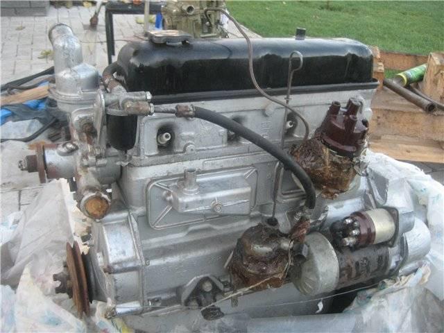 Уазовский мотор 417