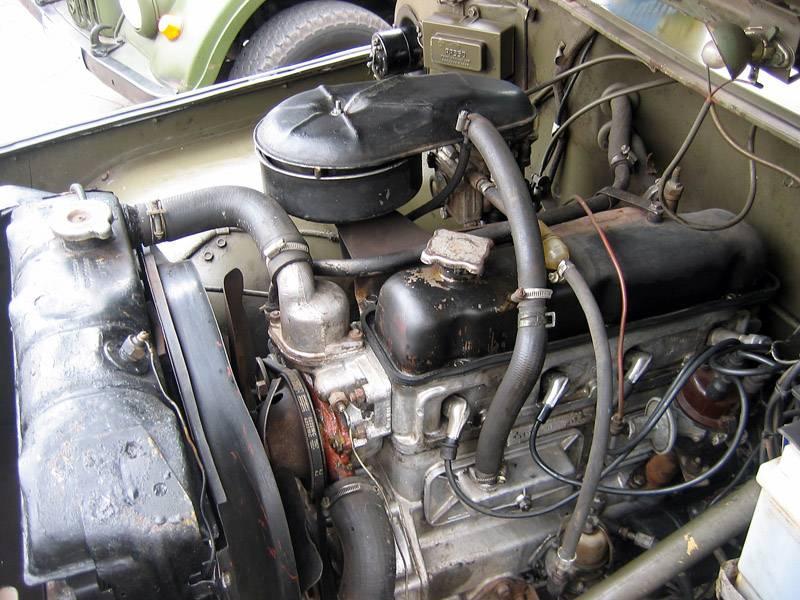 469 модель - двигатель
