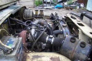 Турбокомпрессор для мотора