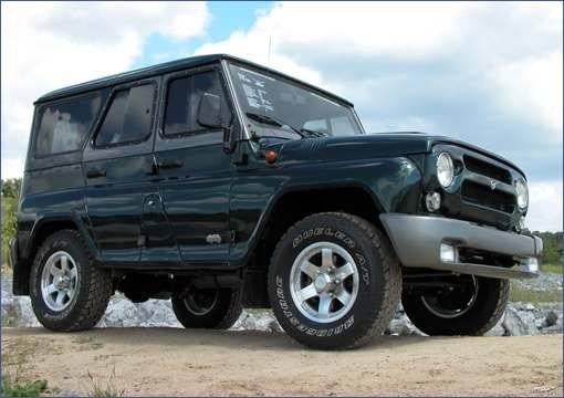 Новейшая модель УАЗа