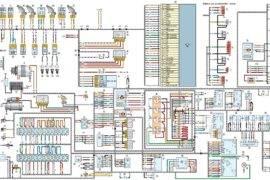 Электросхема на хантере