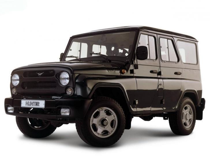Тюнинг автомобиля УАЗа Hunter