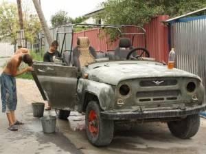 Процесс реставрации кузова