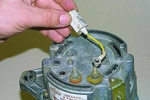 Замена конденсатора на агрегате