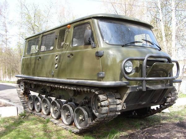 Гибрид танка и буханки