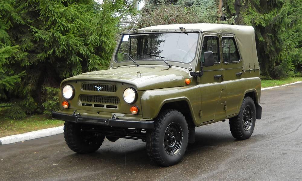 Всеми любимый УАЗ 469