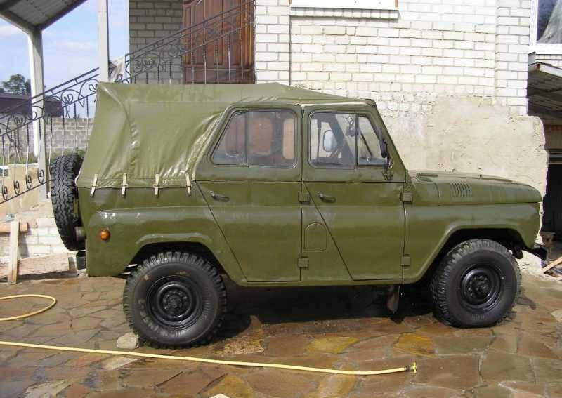 Съемный верх УАЗа 469