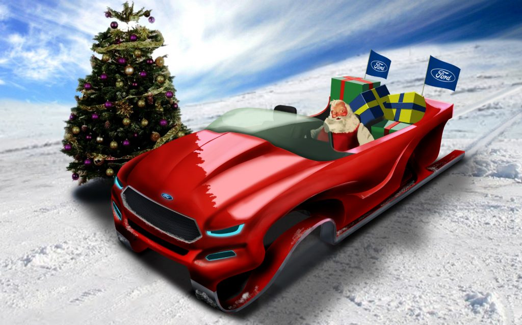 Концепт Ford Evos Sleigh (2011 г.)