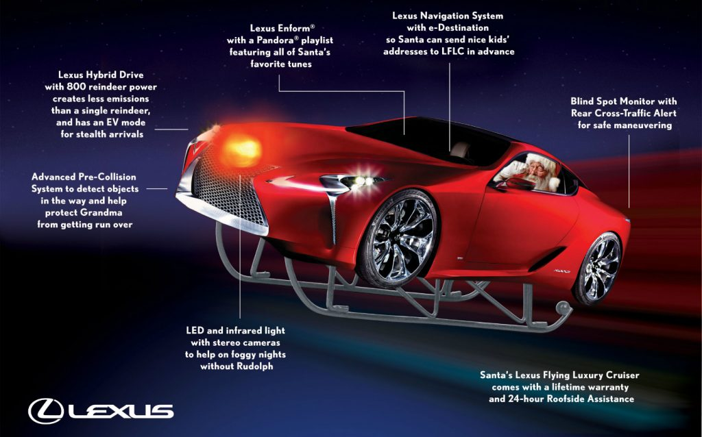 Lexus Flying Luxury Cruiser (2012)