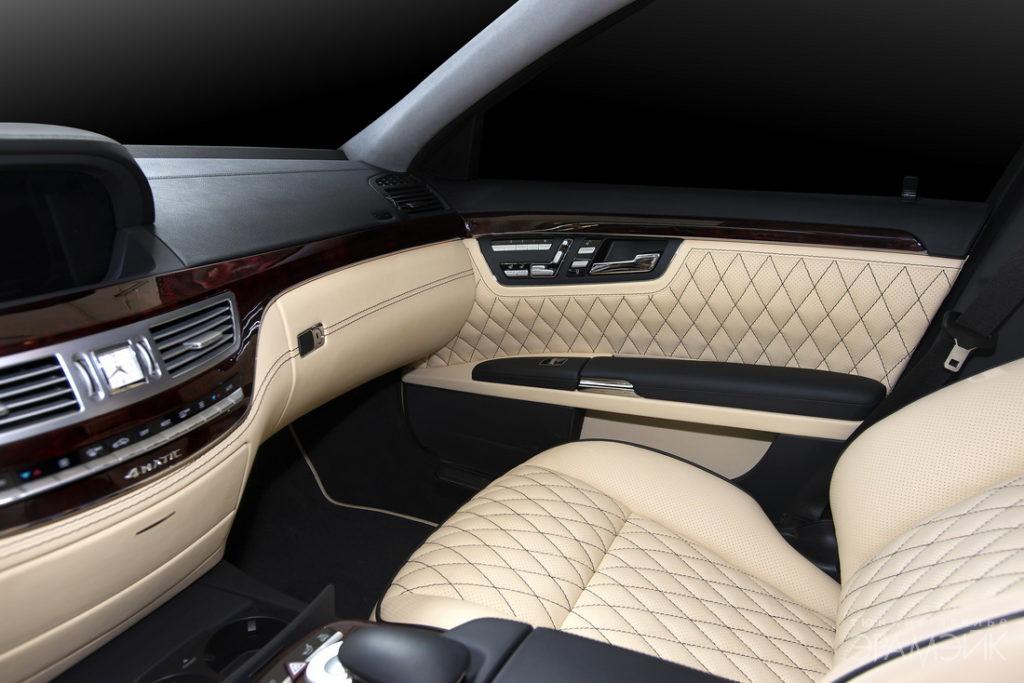 Перетяжка салона Mercedes