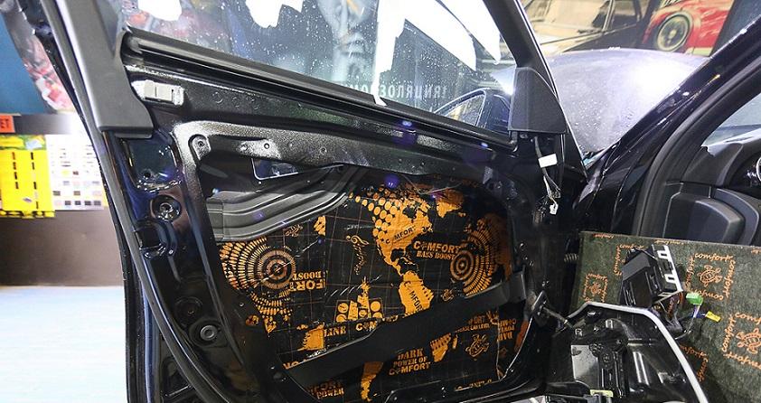 Шумоизоляция автомобиля Mercedes